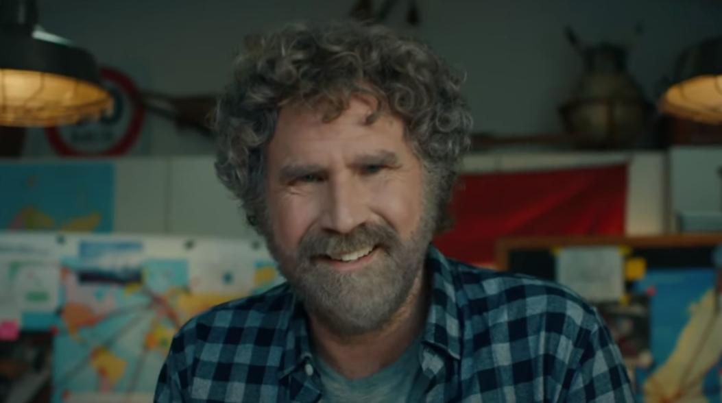 Ator Will Ferrell em comercial da GM no Super Bowl/Reprodução