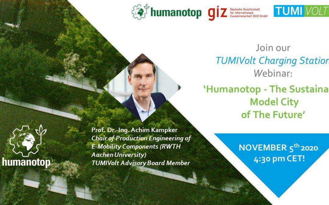 TUMIVolt promove webinar sobre cidades do futuro nesta quinta (5)